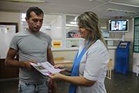 Онкологи краевого онкодиспансера провели прием в станице Калининской