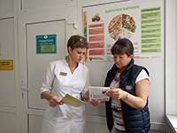 Краевые онкологи побывали в Апшеронском районе